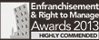 Enfranchisement & Right to Manage Awards 2013 Highly Commended